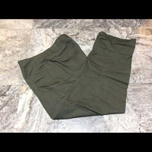 Sonoma Khaki Green Cargo Design Pants
